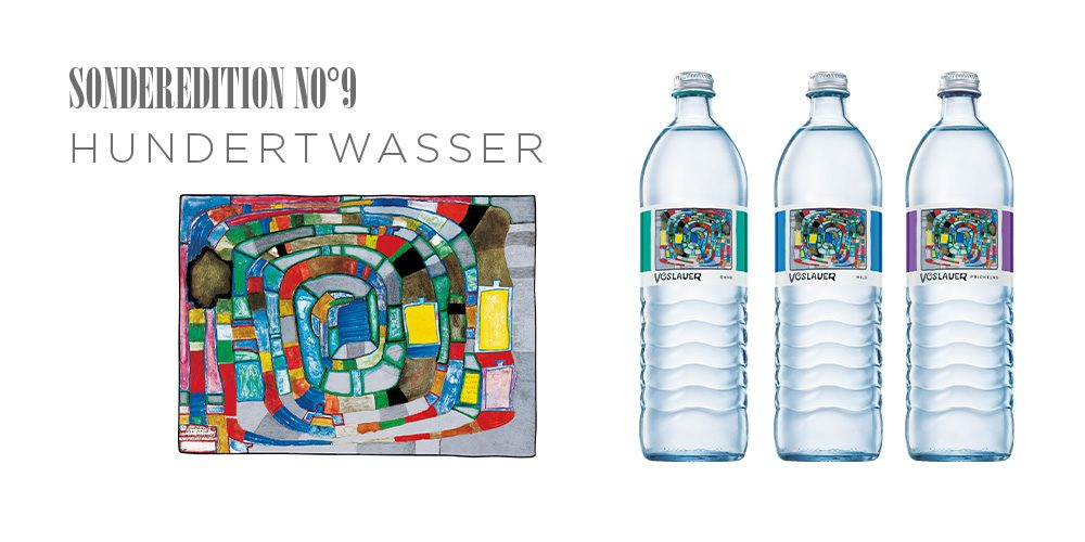 Vöslauer Sonderedition Hundertwasser